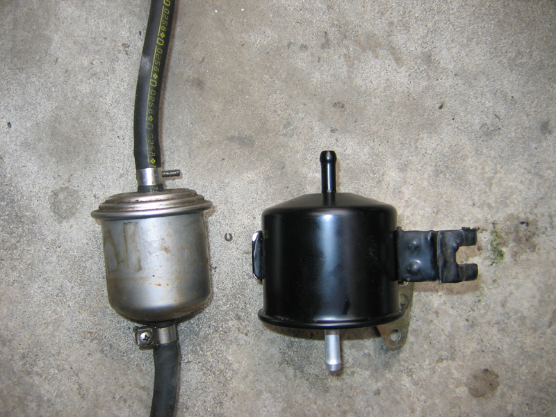 300zx fuel filter on my S13 Nissan 240SX Forums